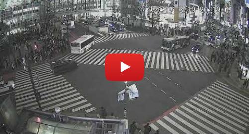 YouTube post de SHIBUYA COMMUNITY NEWS: 渋谷駅前 for embed