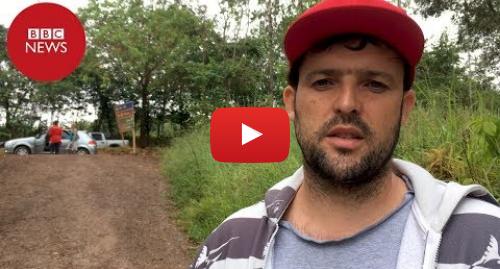 YouTube post de BBC News Brasil: Morador de Brumadinho reclama de falta de apoio
