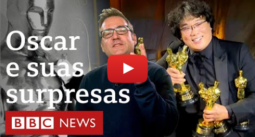YouTube post de BBC News Brasil: Parasita e outras surpresas históricas do Oscar