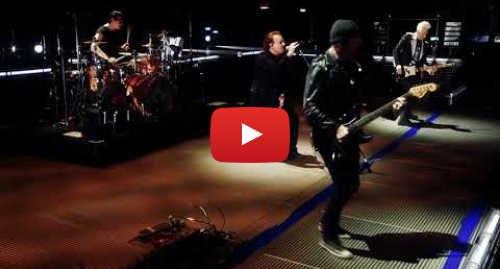 Youtube post by U2: Gloria in Milan