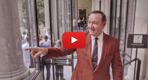 Youtube post by Gabriele Tinti: Kevin Spacey reads The Boxer - Official video