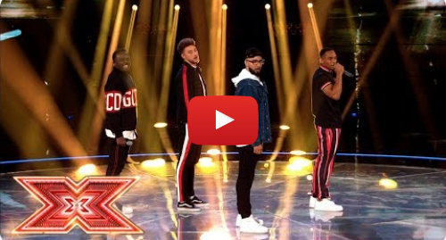 Youtube post by The X Factor UK: Rak-Su are back with original track Dimelo | Live Shows | The X Factor 2017