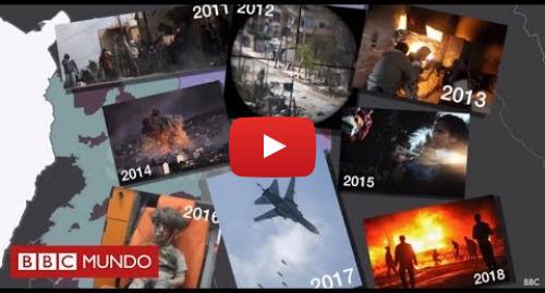Publicación de Youtube por BBC News Mundo: Guerra en Siria  ¿quién combate contra quién y por qué?