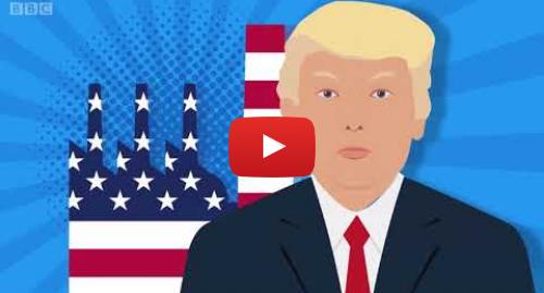 Publicación de Youtube por BBC News Mundo: Estados Unidos vs. China  cómo la mayor guerra comercial de la historia puede afectarte