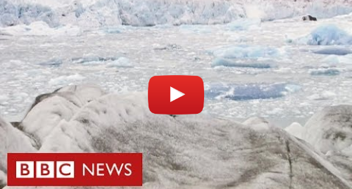 YouTube post de BBC News Brasil: Repórter da BBC volta a geleira após 15 anos e se impressiona com mudança