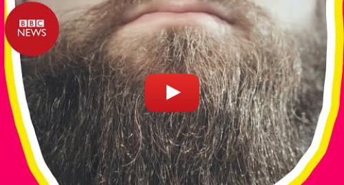 YouTube post de BBC News Brasil: Pesquisa descobre 'por acaso' que barbas têm mais germes que pelo de cães