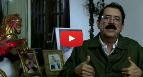 """Publicación de Youtube por BBC News Mundo: Manuel Zelaya  """"Los grupos armados gobiernan"""" Honduras BBC MUNDO"""