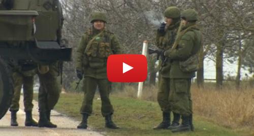 Youtube допис, автор: BBC News Україна: Захоплювачі в Криму  без номерів і знаків розпізнавання