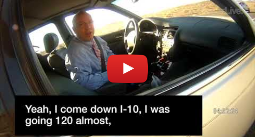 Youtube post by KLPZ: Arizona state representative brags to officer about speeding
