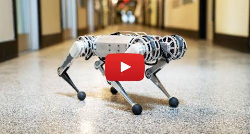 پست یوتیوب از Massachusetts Institute of Technology (MIT): Backflipping MIT Mini Cheetah