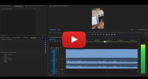 YouTube post de Coordenadoria de Comunicação Social - TRE-MG: Técnico de edição explica montagem em vídeo