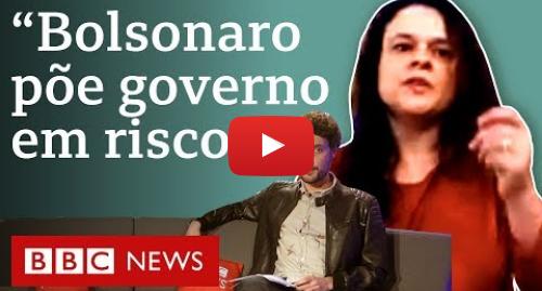 YouTube post de BBC News Brasil: 'Quero saber o que tem lá. Defendo a liberdade de informação', diz Janaína Paschoal