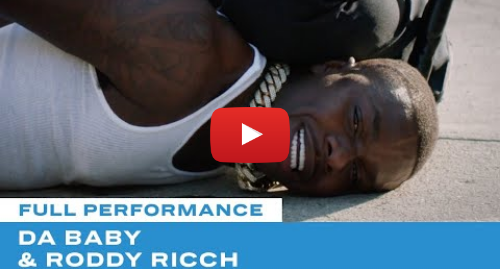 "Youtube post by BETNetworks: DaBaby & Roddy Ricch Make Powerful Statement In ""Rockstar"" Performance 