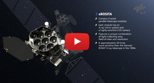 Youtube post by DLR: The eROSITA X-ray telescope - On the hunt for Dark Energy