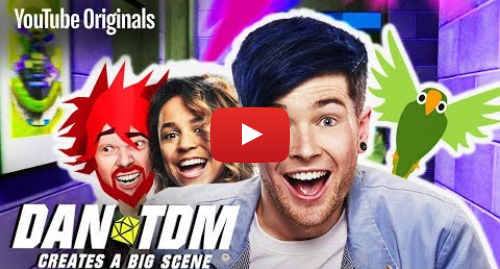Publicación de Youtube por DanTDM: Save The Show  - DanTDM Creates a Big Scene (Ep 1)