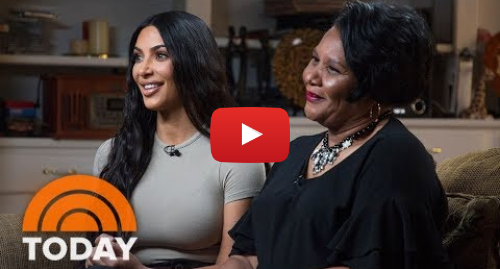 Youtube post by TODAY: Kim Kardashian West And Freed Inmate Alice Johnson Meet For The First Time   TODAY