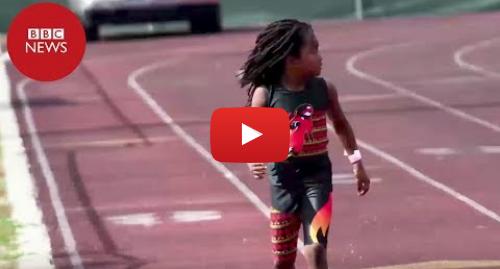 YouTube post de BBC News Brasil: O novo Bolt? O velocista de apenas 7 anos que quer derrubar recorde do jamaicano