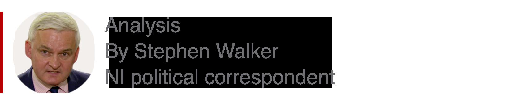 Analysis box by Stephen Walker, NI political correspondent