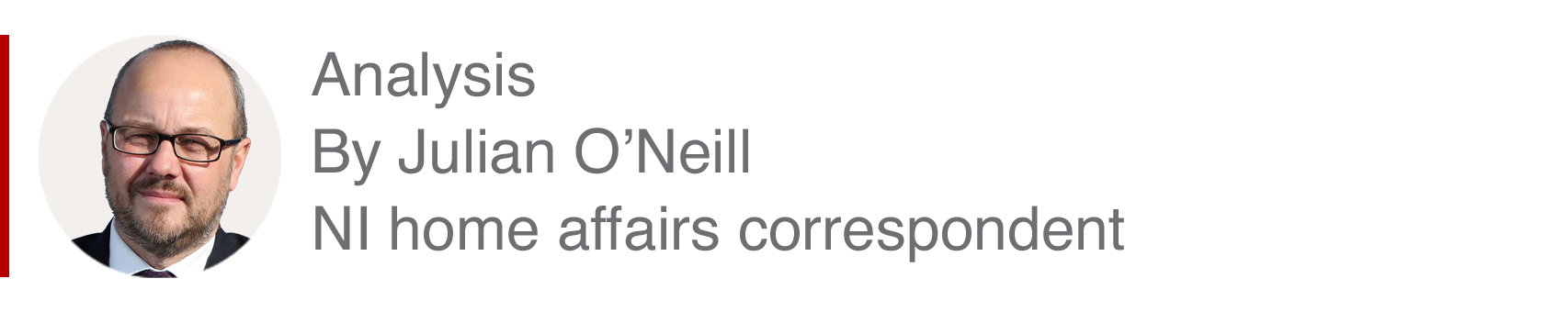 Analysis box by Julian O'Neill, NI home affairs correspondent