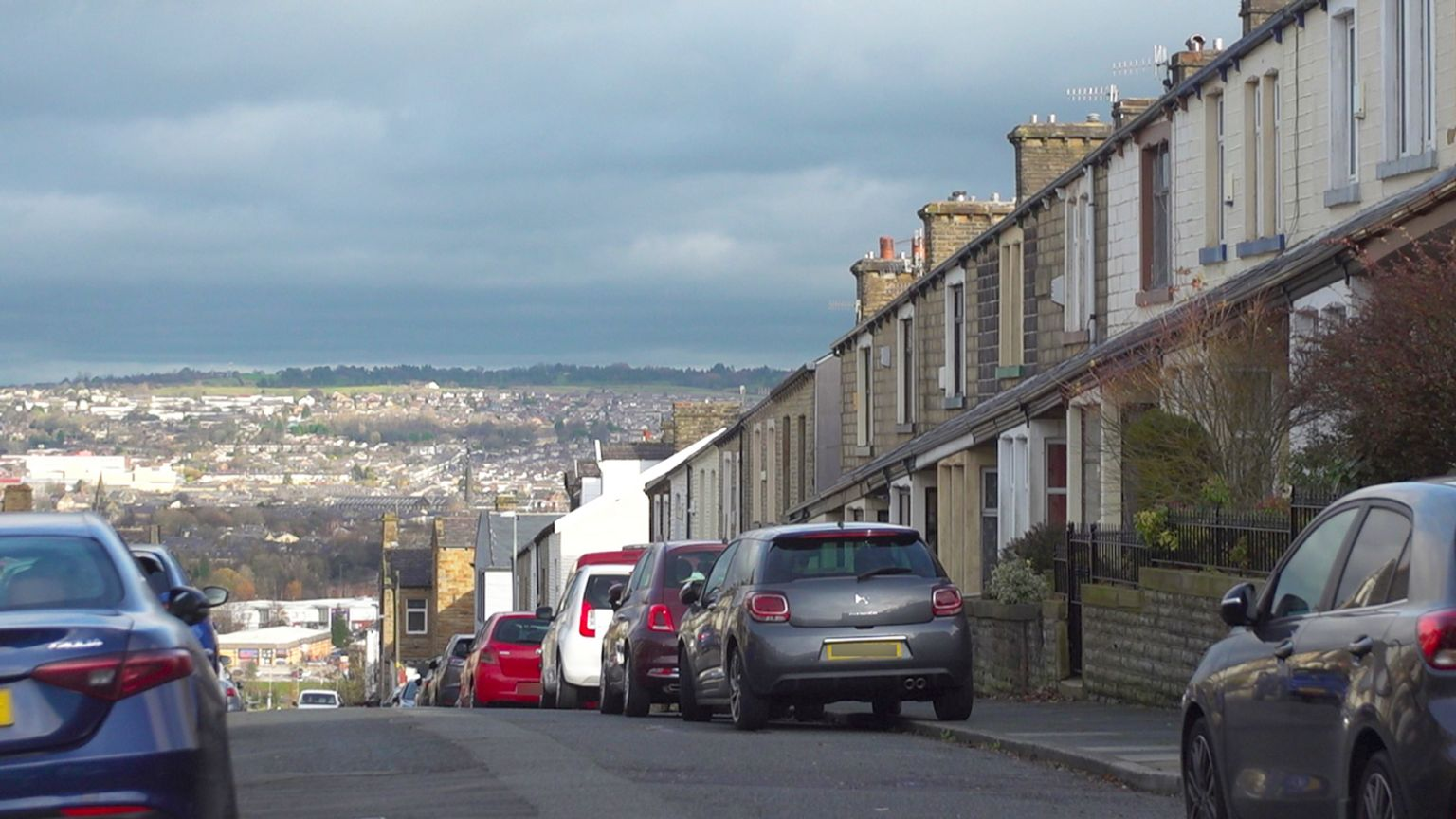 Street in Burnley