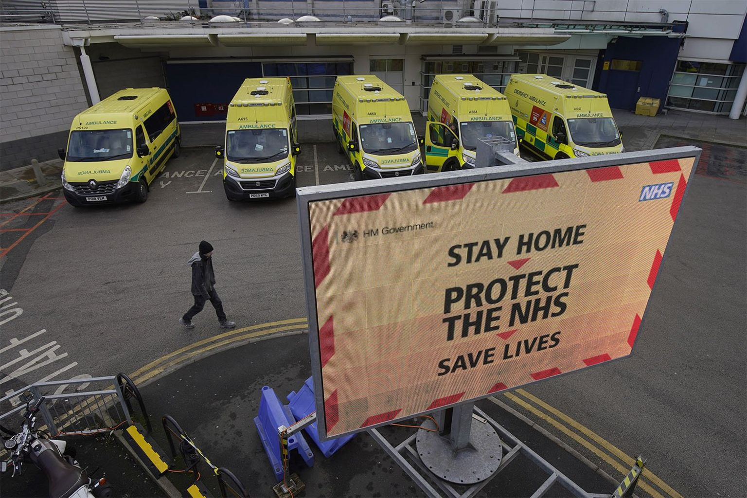 Royal Liverpool University Hospital January 2021