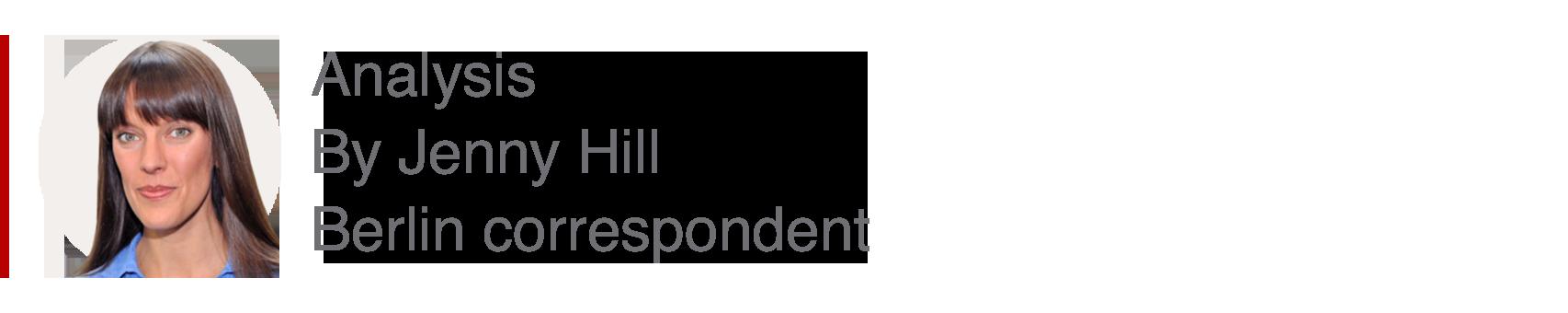 Analysis box by Jenny Hill, Berlin correspondent
