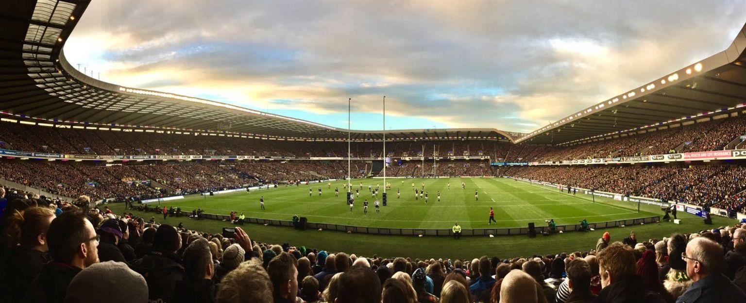 Scotland v Australia at Murrayfield