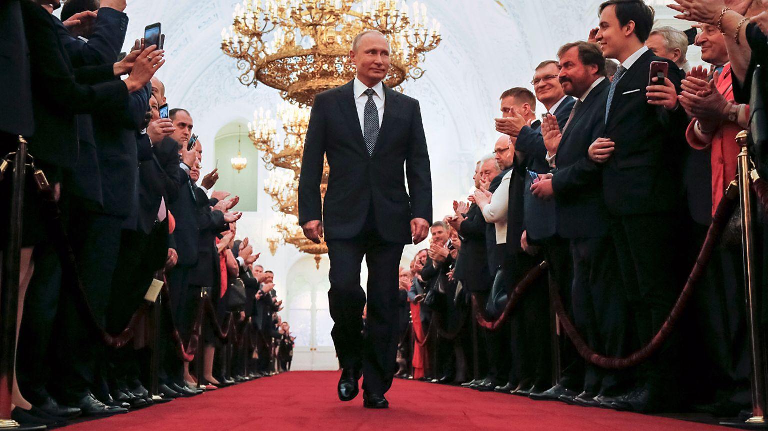 President Putin's inauguration ceremony, May 2018