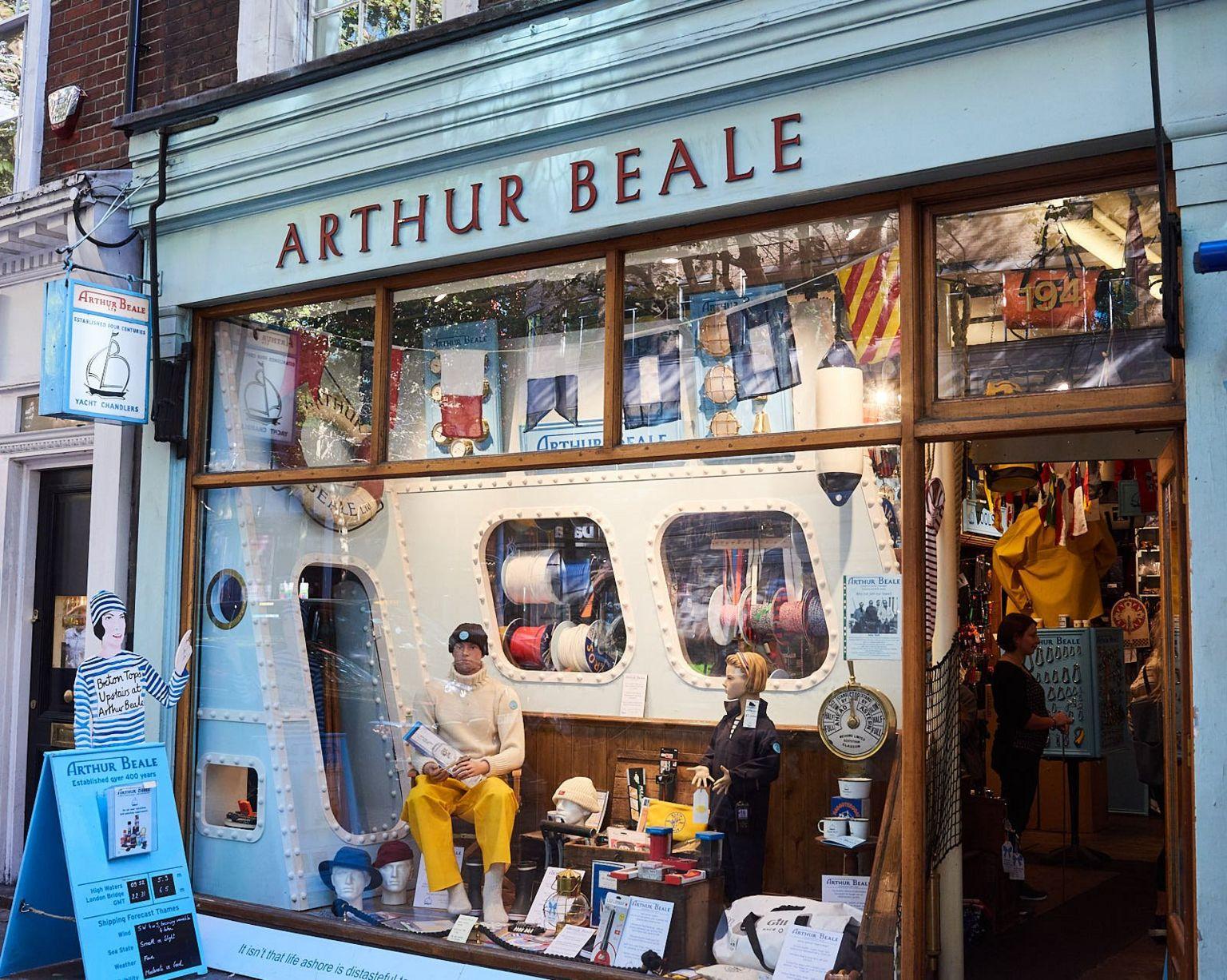 Arthur Beale yacht chandler