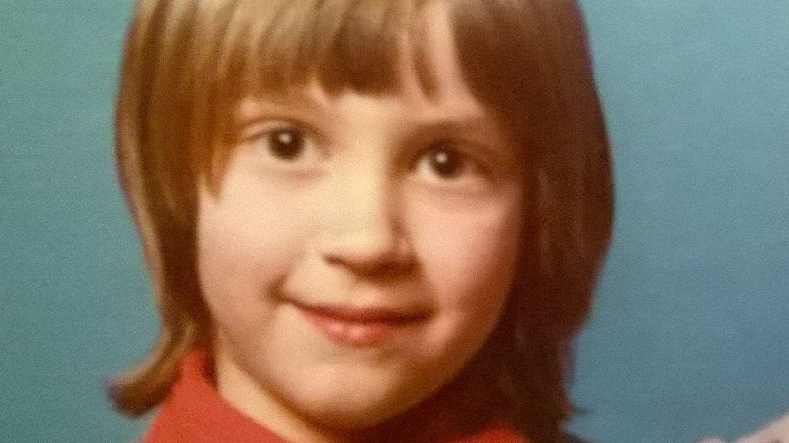 A photo of Caspar Capel as a young child