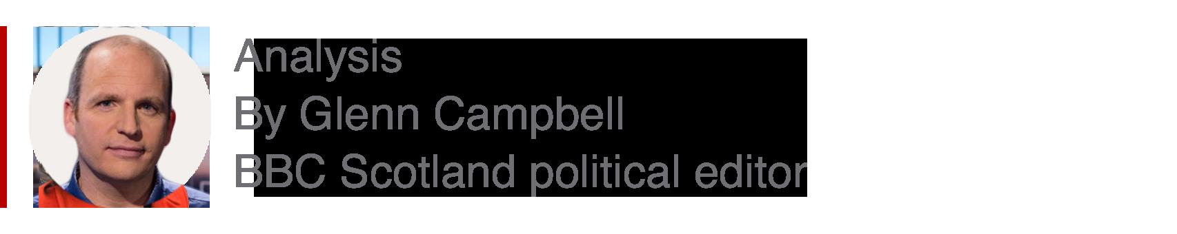 Analysis box by Glenn Campbell, USAGovNews Scotland political editor