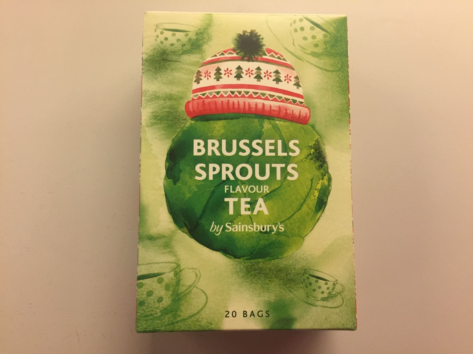 Brussels sprouts tea