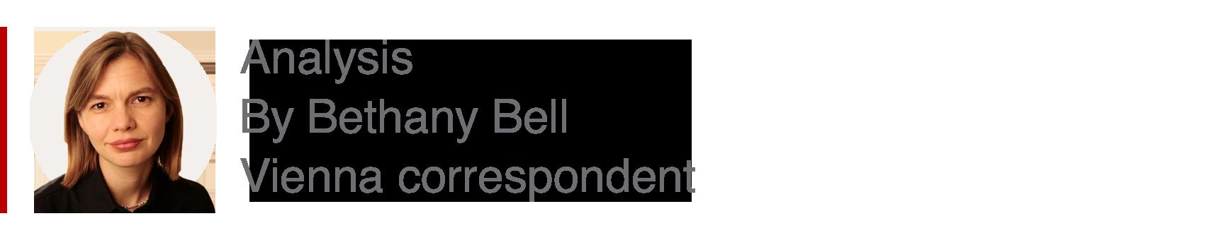 Analysis box by Bethany Bell, Vienna correspondent