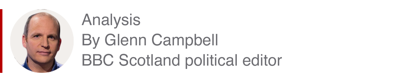Analysis box by Glenn Campbell, BBC Scotland political editor