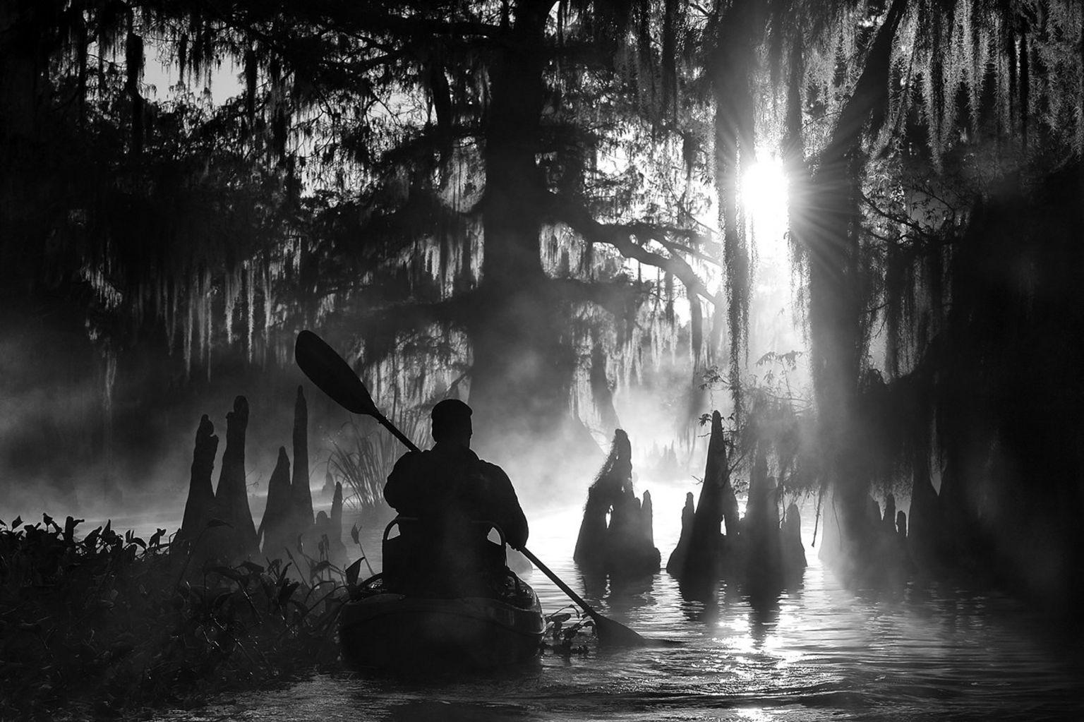 Kayaking - Atchafalaya Basin, Louisiana, USA