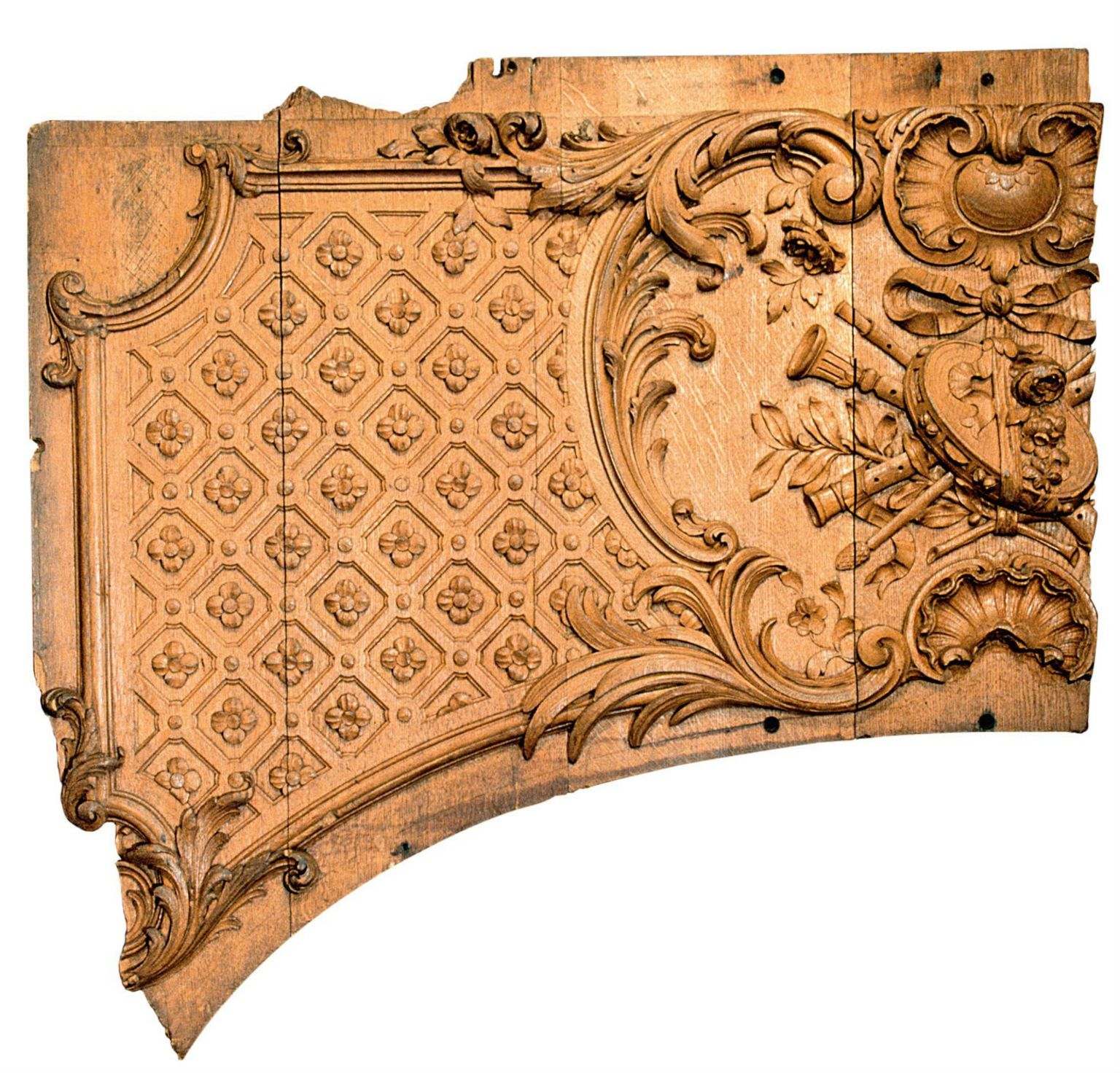 Titanic panel fragment