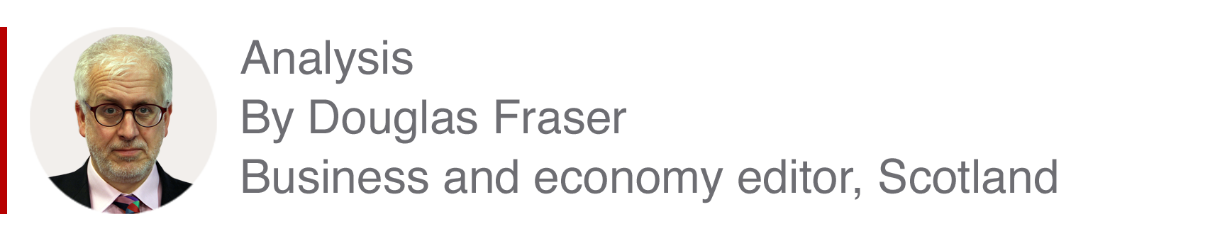 Analysis box by Douglas Fraser, business and economy editor, Scotland