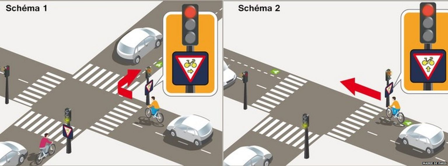 guide for cyclists published by Paris mayor's office