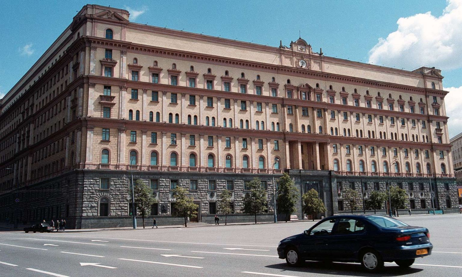 Lubyanka, pictured in 2000