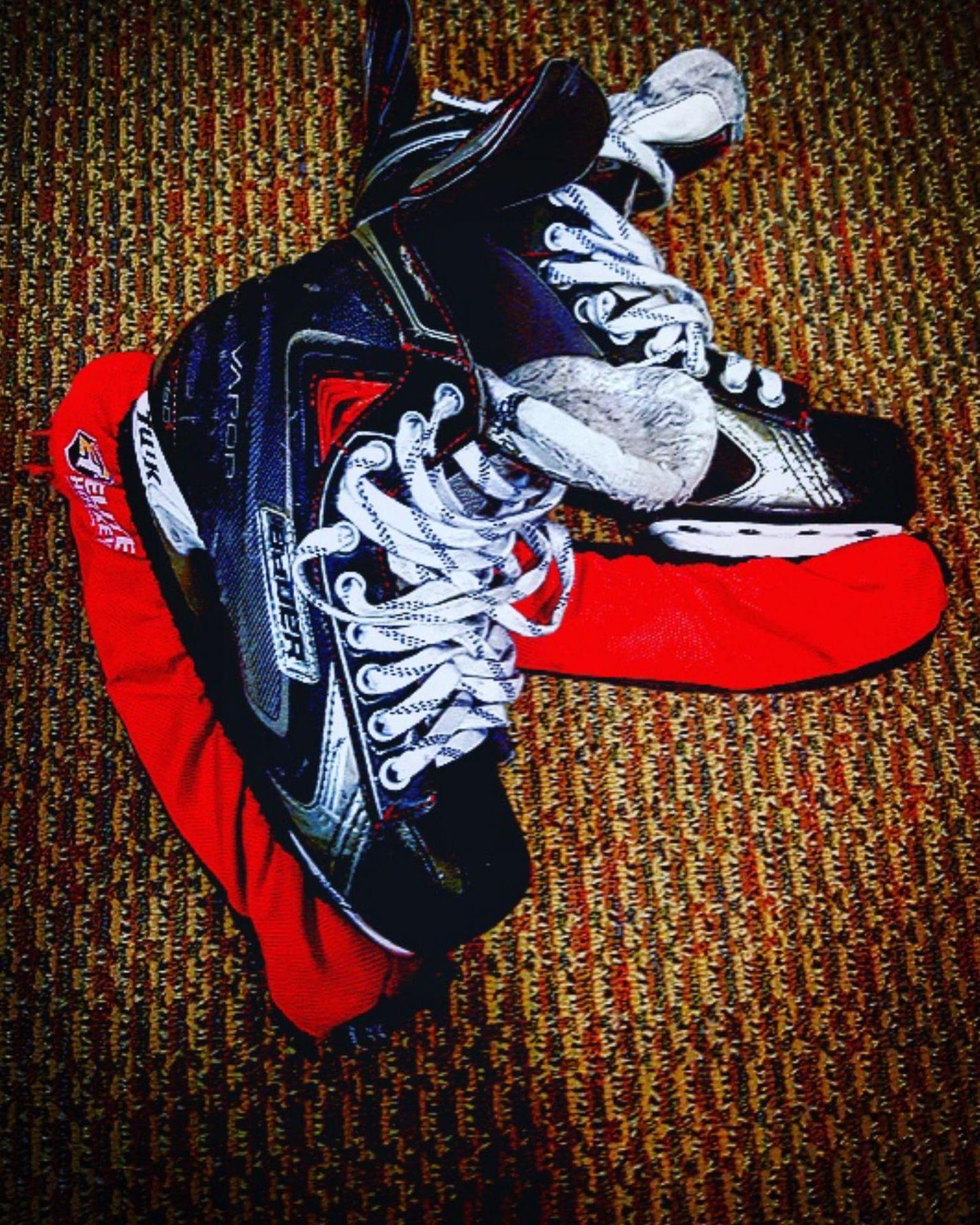 A pair of ice skates