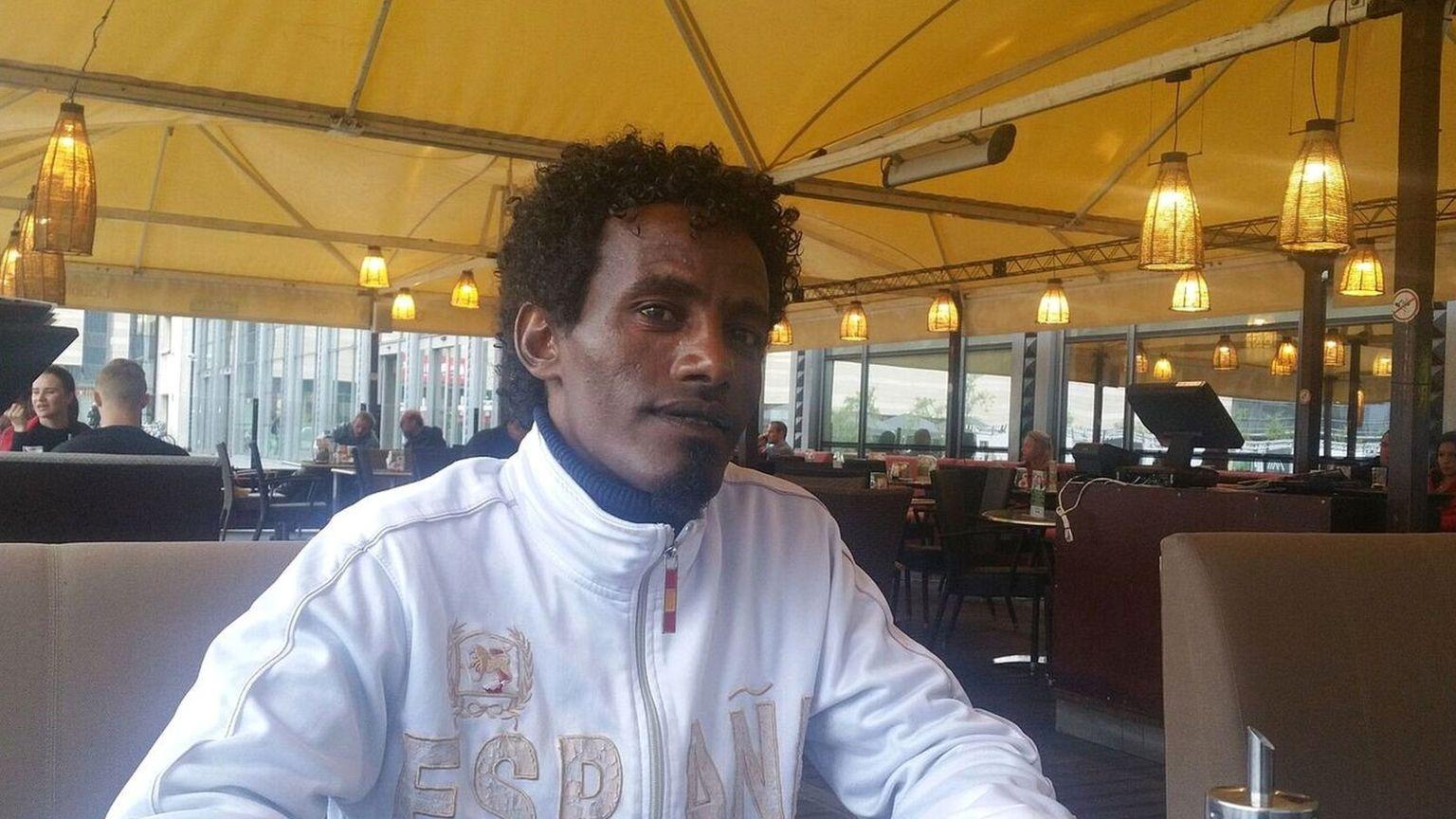 Mekharena - refugee from Eritrea