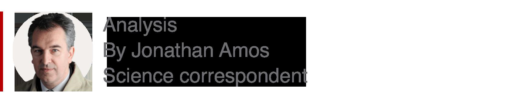 Analysis box by Jonathan Amos, science correspondent