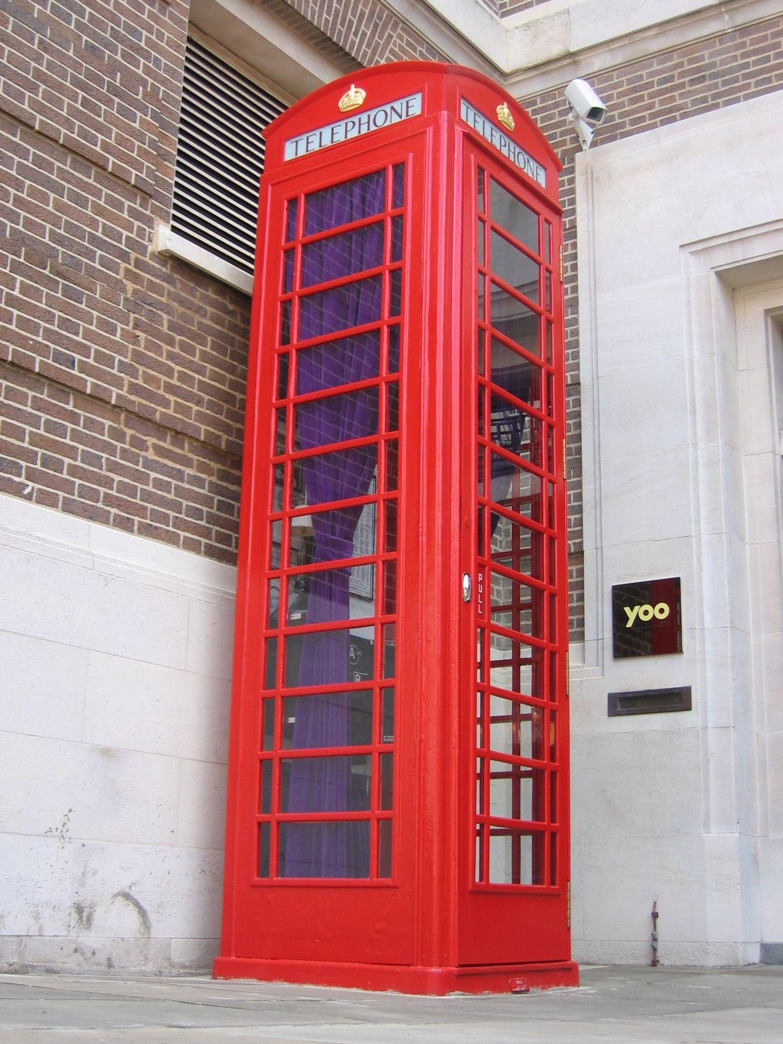 Double decker phone box