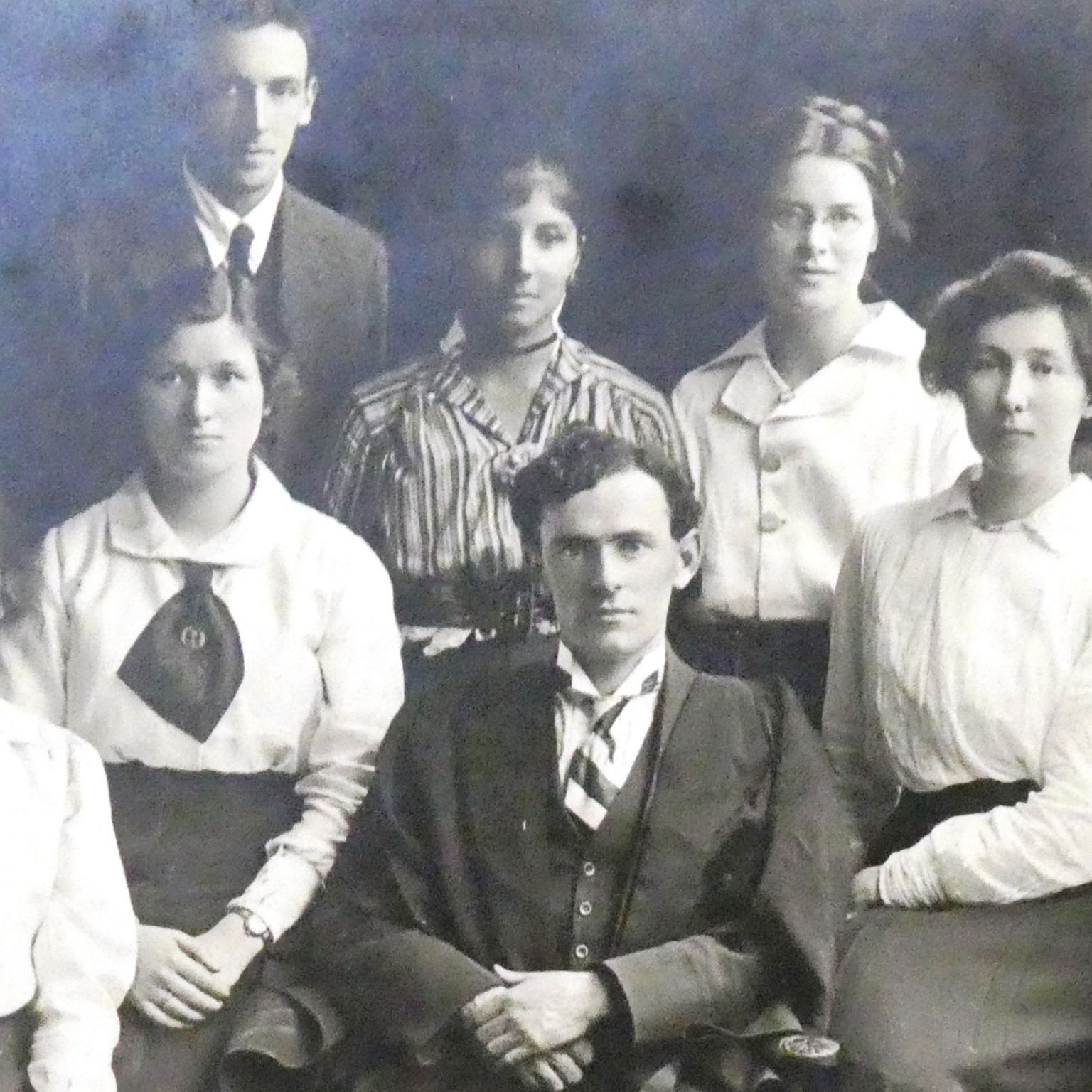 Students at the University College of Wales
