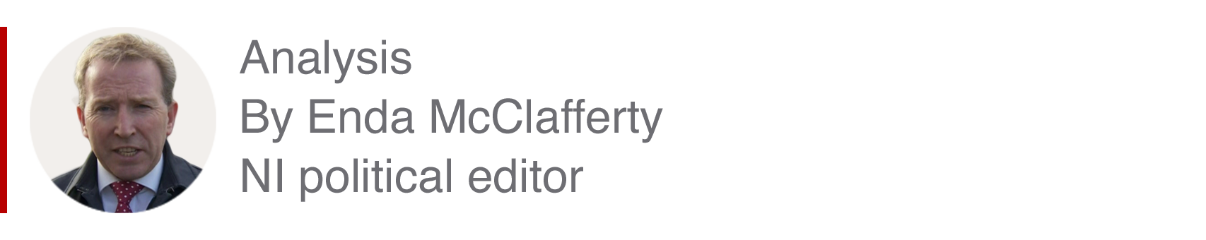 Analysis box by Enda McClafferty, NI political editor