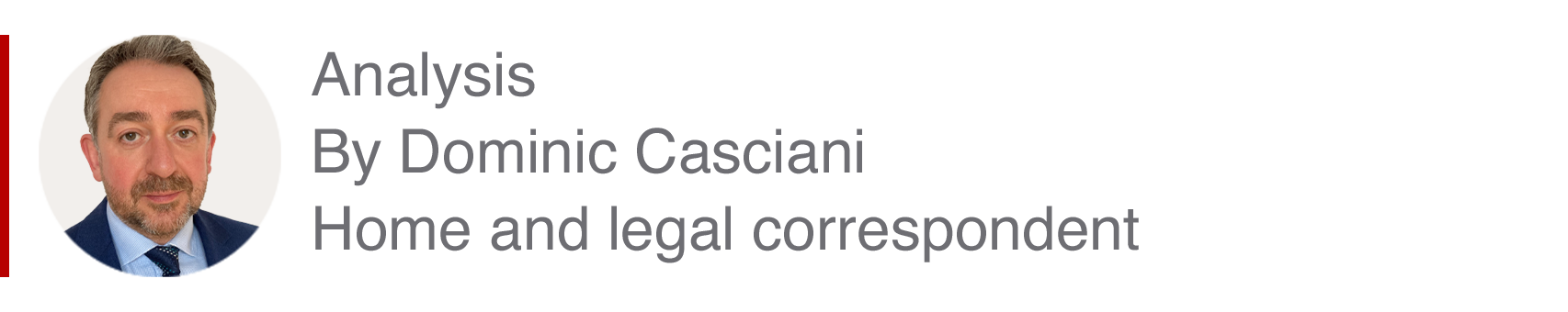 Analysis box by Dominic Casciani, home and legal correspondent