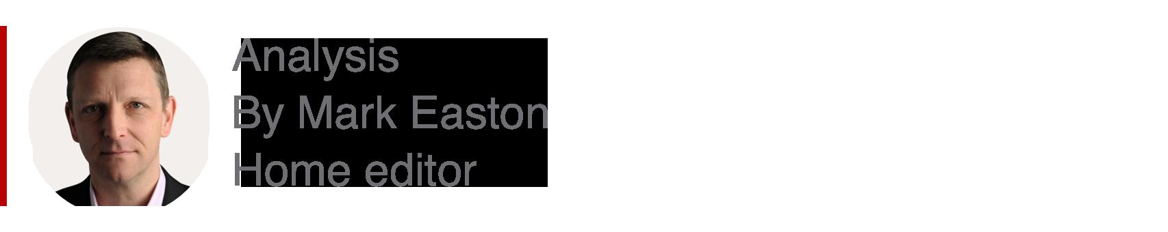 Cuadro de análisis por Mark Easton, editor casero