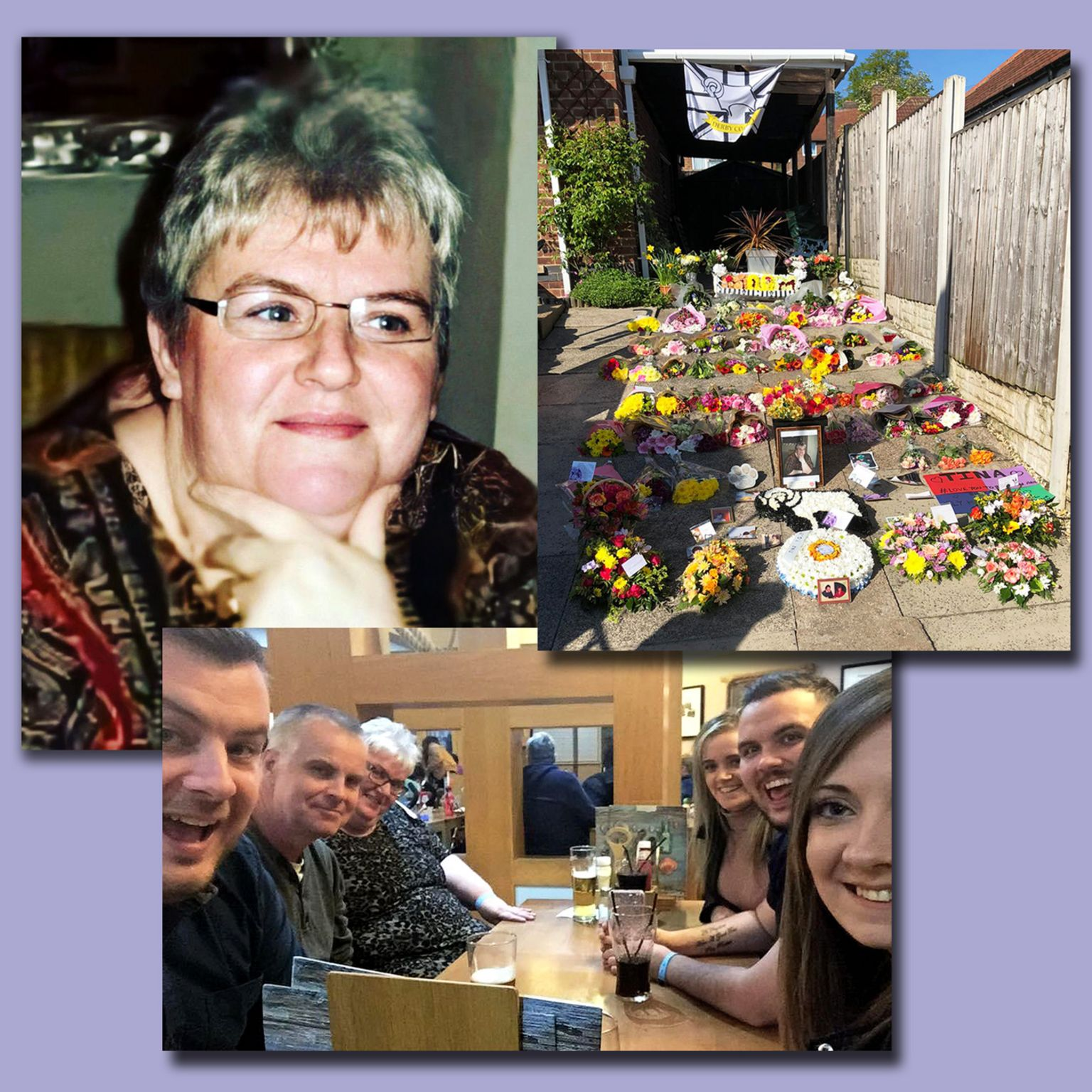 Tina Cooke, funeral tributes and enjoying a family meal out
