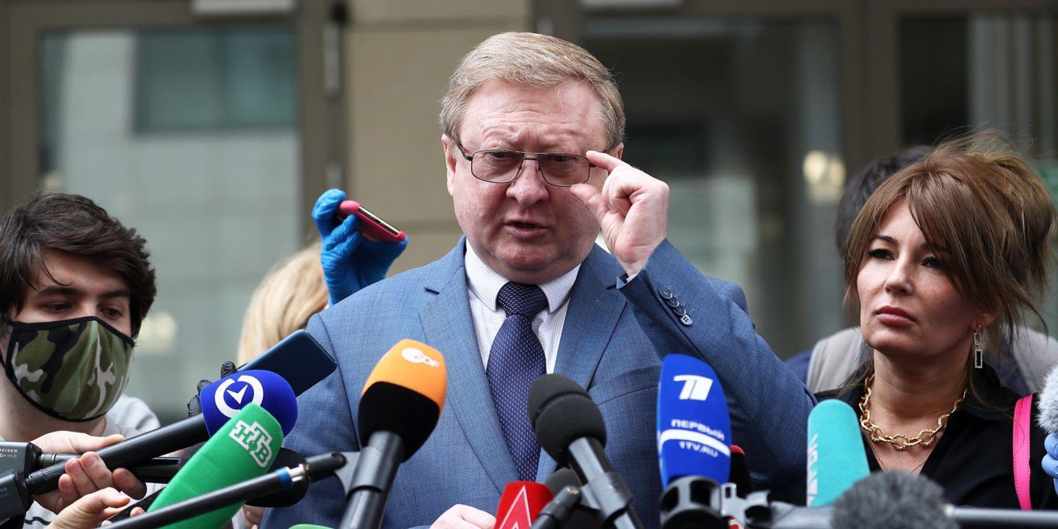 Paul Whelan's lawyer Vladimir Zherebyonkov