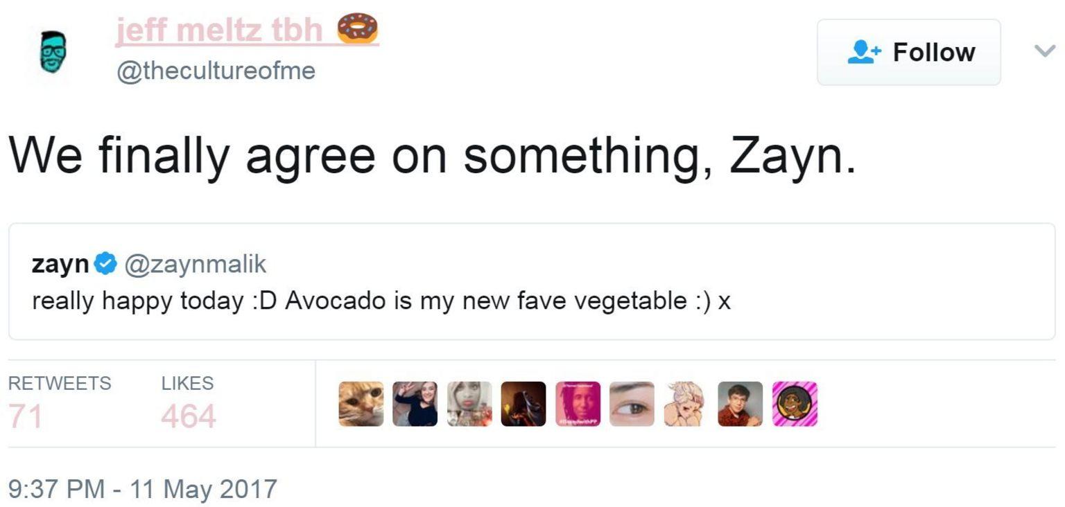 Screen grab of tweet by @thecultureofme